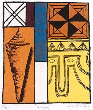 Belonging 1999 Limited edition Screenprint on paper