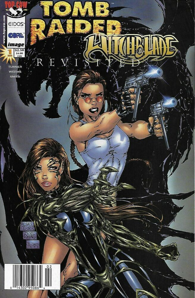 Tomb Raider Witchblade Comic Issue 1 Revisited Special Cover A