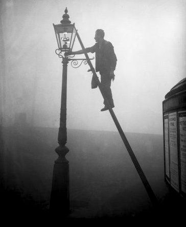 Awesome Lamp Lighters Were Responsible For Lighting And Extinguishing The City Lamps  Back In The 1800s And