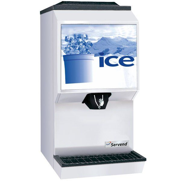 Servend 2706332 M90 Countertop Ice Dispenser 90 In 2020 Countertops Storage Kitchen Appliances