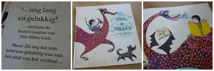 Een verfrissende kijk op sprookjes: Jill & Draak. Want Jill ziet dat aan het einde van het verhaal, niet iedereen gelukkig is... Daar gaat ze wat aan doen!