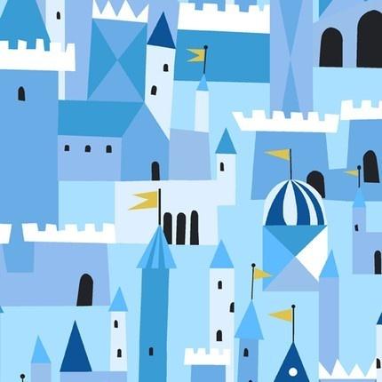 Castle print: Edinburgh Scotland, Blue Fabrics, Books, Dragon, Royals Blue, Lizzie Houses, Shower Theme, Design, Castles Peeps