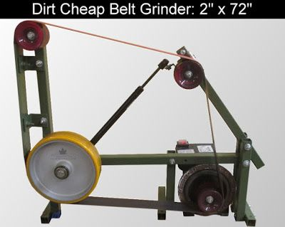 Diy Knifemaker S Info Center Dirt Cheap 2 X 72 Belt