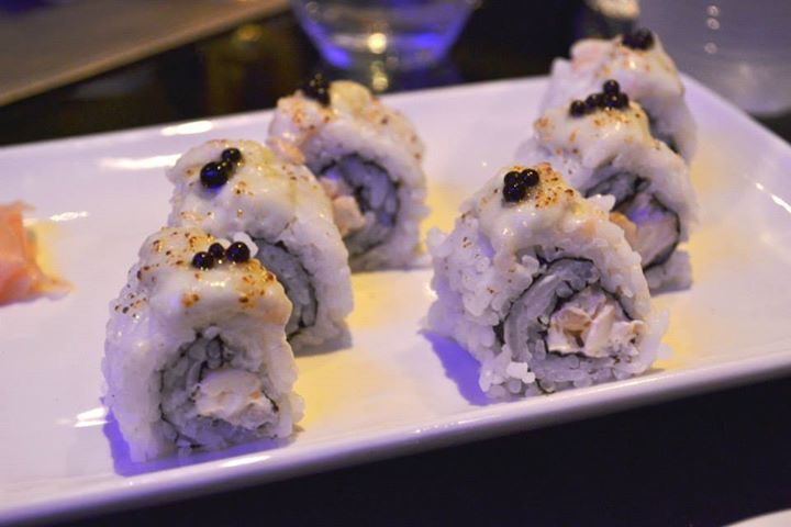 Lobster Thermidor Maki Roll @landsmumbai  Image Courtesy : Nikhil Merchant