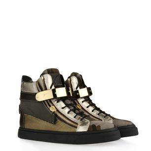 Guiseppe Zanotti Men's High top Sneaks-Men should be able to indulge in shoegasms too!