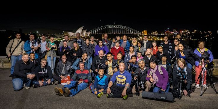 The Mrs Macquaries Chair photowalk was so much fun! =) We had a great turn out and did a few surprise light shows at the end which proved to be very popular. Thanks to everyone that came along. =) #photowalk #photography #photowalkguys
