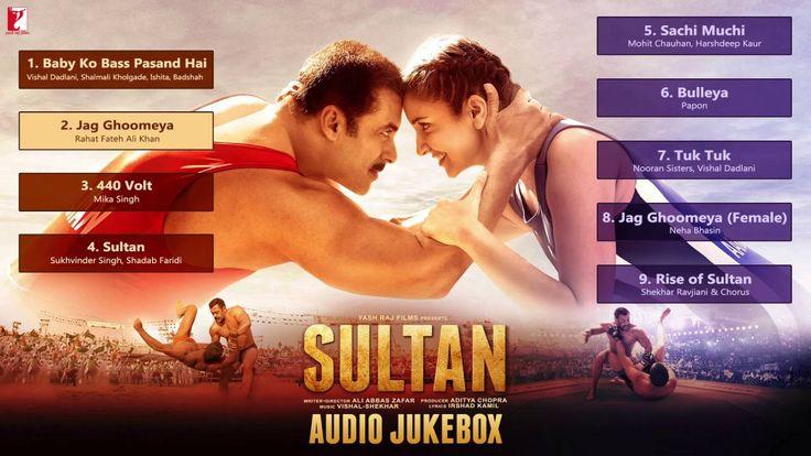 SULTAN - Audio Jukebox | Salman Khan | Anushka Sharma | Vishal & Shekhar