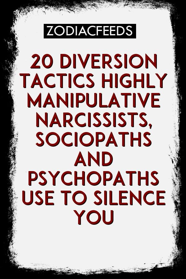 Highly manipulative personality
