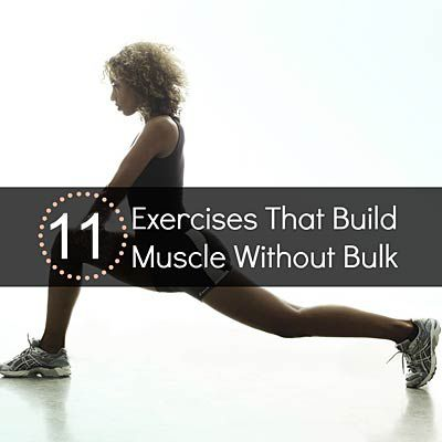 No-Bulk Workout   Health.com Metabolism-boosting workout that builds strength and tones your abdominals, back, thighs, butt and arms.