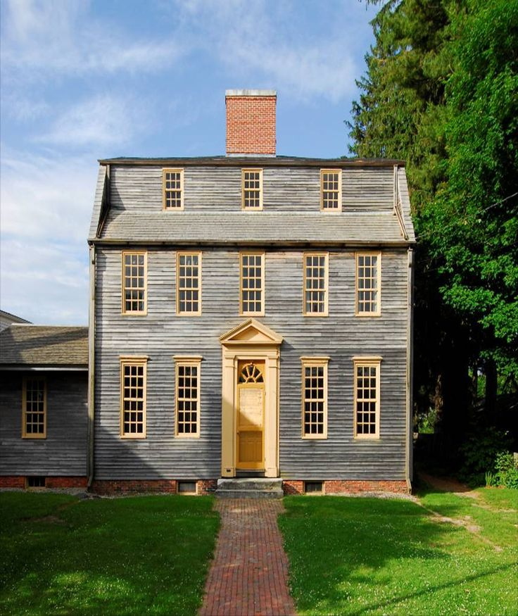 New Built Homes: 133 Best Images About 18th Century American Homes