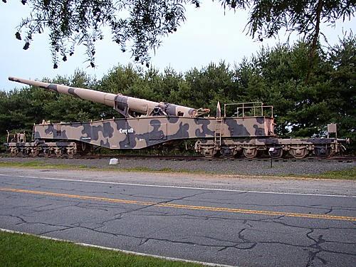 German Leopold Rail Gun