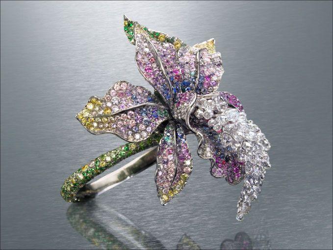 Anna Hu Orchid Ring