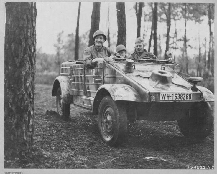 L'appropriation d'un Kubelwagen par l'article Ordnance États-Unis de la 9e Armée de l'Air, été 1944 en Normandie.