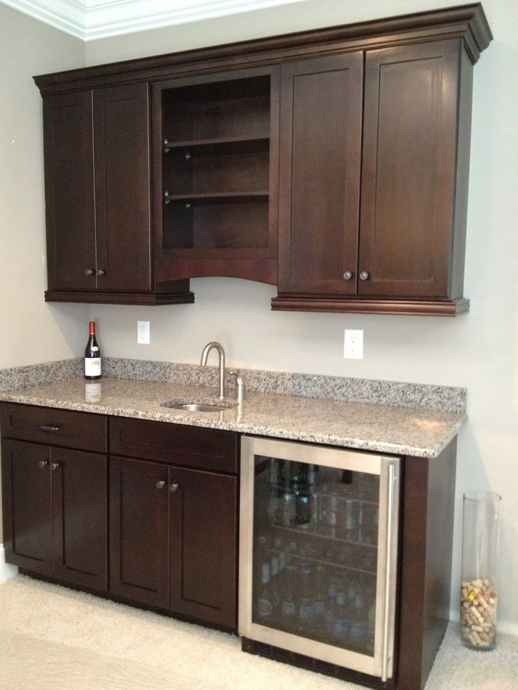 35 best images about wet bars on pinterest basement wet for Basement cabinet ideas
