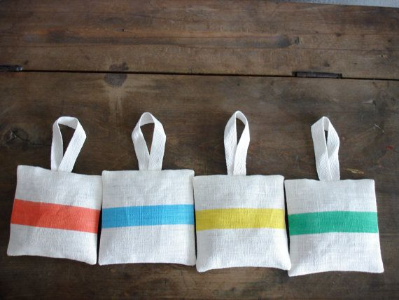 Lavender Bags Set of 4 by Limonera on Etsy, $11.00