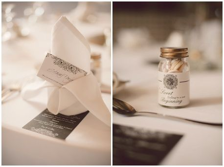 Menus and place cards