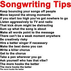 song writing help Posts about songwriting help written by thehitformula.