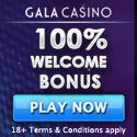 Get a real welcome at Gala Casino - 100% up to £400 on your first deposit.