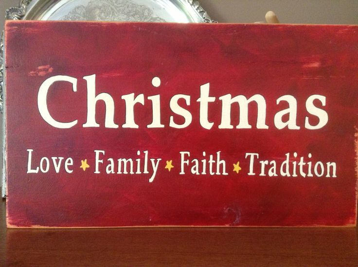 Hand painted Christmas sign. Made by Kylie Bailey.