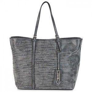 Τιμή : 115€ (από 165€) !! REPLAY shopping bag σε γκρι χρώμα με τρουκ.