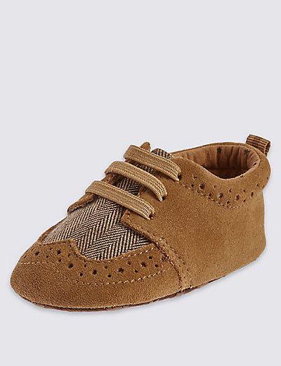 Kids' Lace up Brogue Shoes | M&S
