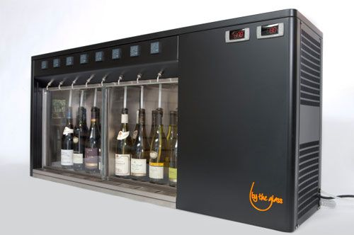 Wine Dispensing Systems from By the Glass Wine Dispensers Canada
