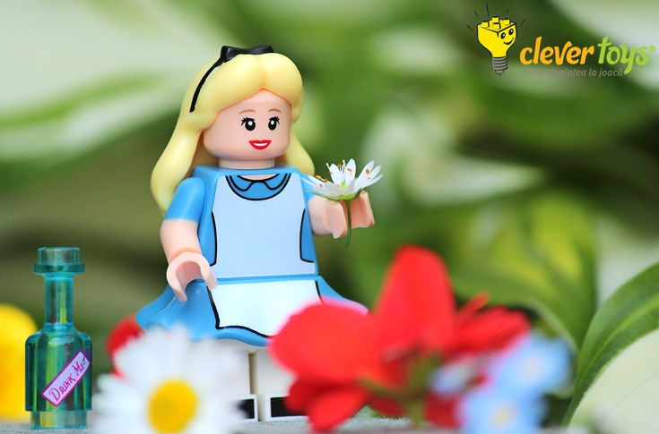 """Alice:  """"Curiosity often leads to trouble."""""""