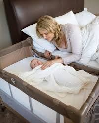 #Snuggletime #Co-Sleeper Camp Cot, allows Mom and baby to sleep soundly knowing your baby is in reach. Bond with your baby co-sleeping while keeping your baby safe from dangers.