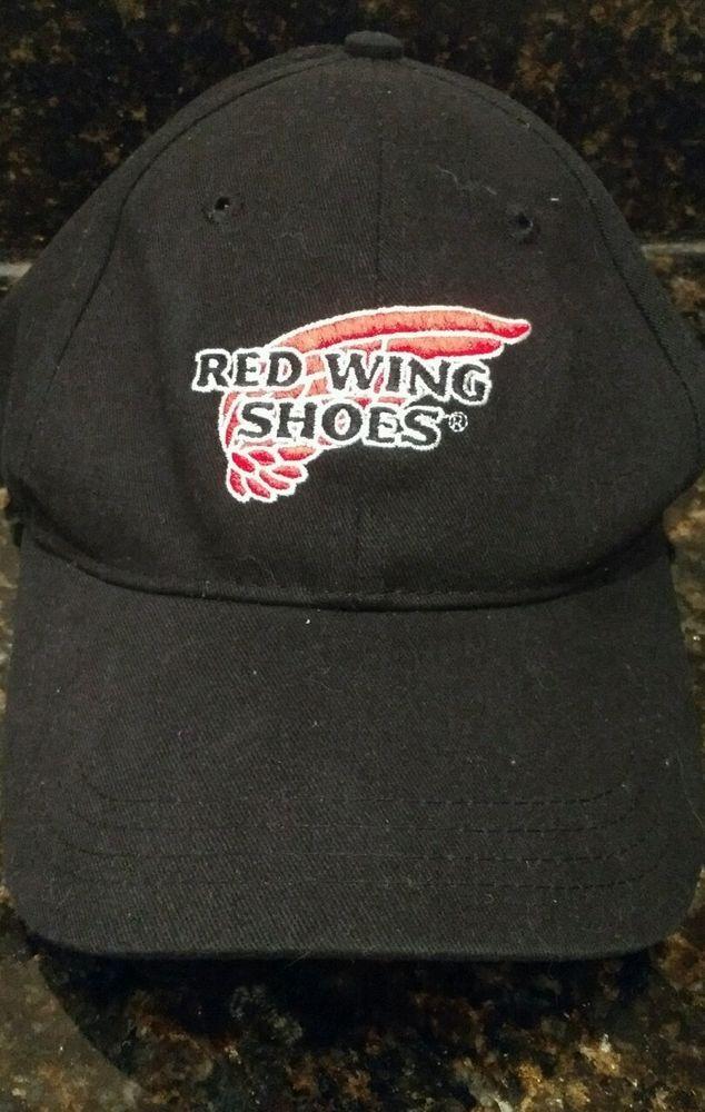 Red Wing Shoes Baseball Hat Cap Adjustable Strapback Embroidered Logo Boots #RedWing #BaseballCap
