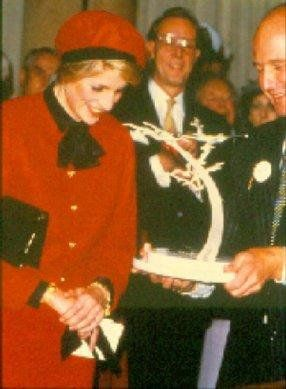 "November 15, 1984: Princess Diana christens the luxury liner ""Royal Princess"" in Southampton--Princess Diana"