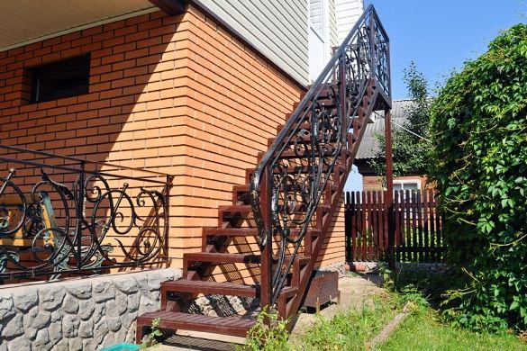 Наружные лестницы - декоративность и функциональность в тандеме - Дом и стройка…