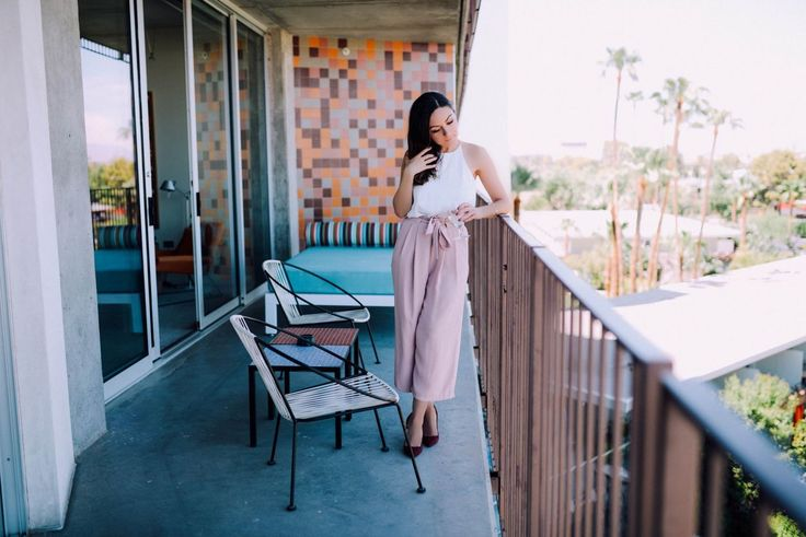Pink Culottes | Style with Nihan