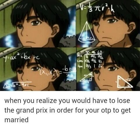 Phichit realizes he would have to lose the Grand Prix final gold medal in order for Yuri and Victor to get married, Victuri meme