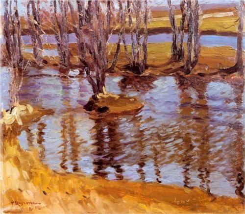Krajobraz - Ferdynand Ruszczyc