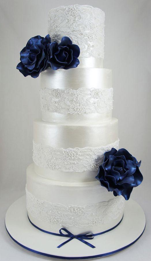 Eye-Catching Wedding Cake Inspiration. To see more…