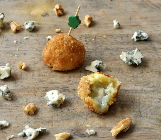 Cromesquis de Roquefort et noix, enfin presque …