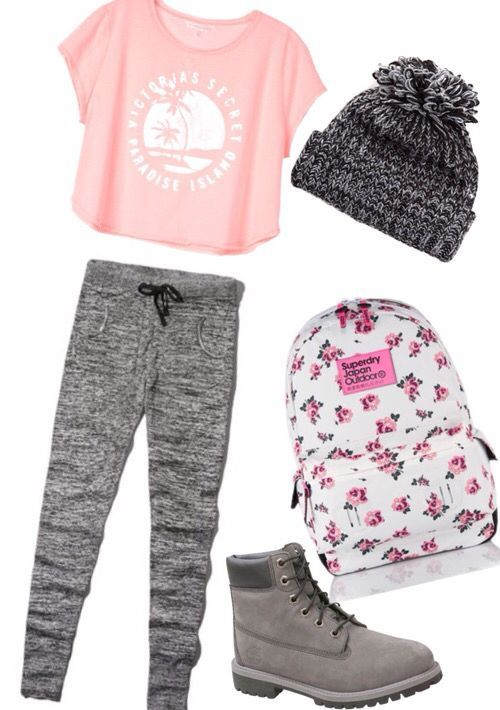 As you already know, gray sweatpants are so hot right now and you can wear them literally everywhere. The school combination is the easiest to do and a pastel pink tshirt is the perfect choice. Complete it with gray sneakers… Continue Reading →
