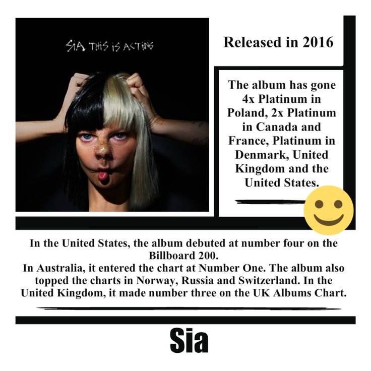 This Is Acting Album by Sia #sia #pop #popmusic #song #music #album #musica #singer #songwriter #video #youtube