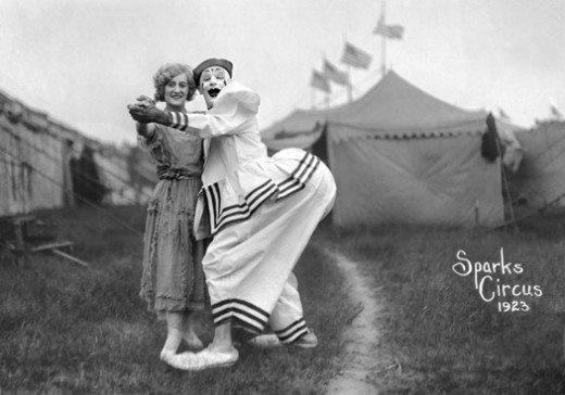 Sparks circus 1923