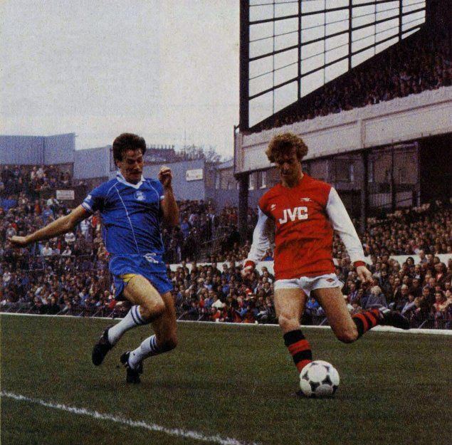 Jim Hagan BCFC, Graham Rix Arsenal