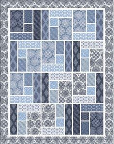 Download Whimsical Quilt free pattern