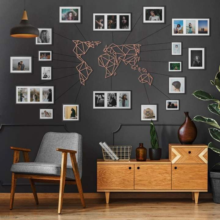 Design Your Walls With Our Unique Metal Wall Art Collection Free Shipping Worldwide Check Our Catalogue Which Includes Home Decor Home Modern Cozy Living Room