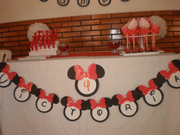 Cumpeaños Minnie Mouse by Dulcinea de la fuente www.facebook.com/dulcinea.delafuente.5  https://www.facebook.com/media/set/?set=a.117305701748719.33441.100004078680330&type=1&l=b380a10ba8  #fiesta #golosinas  #cumpleaños #mesadulce #festejo #fuentedechocolate #agasajo#mesa dulce #candybar #sweet table  #tamatización #souvenir #minnie