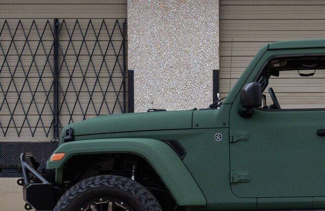 Matte Car Wraps Dallas Fort Worth Matte Cars Green Jeep Car Wrap