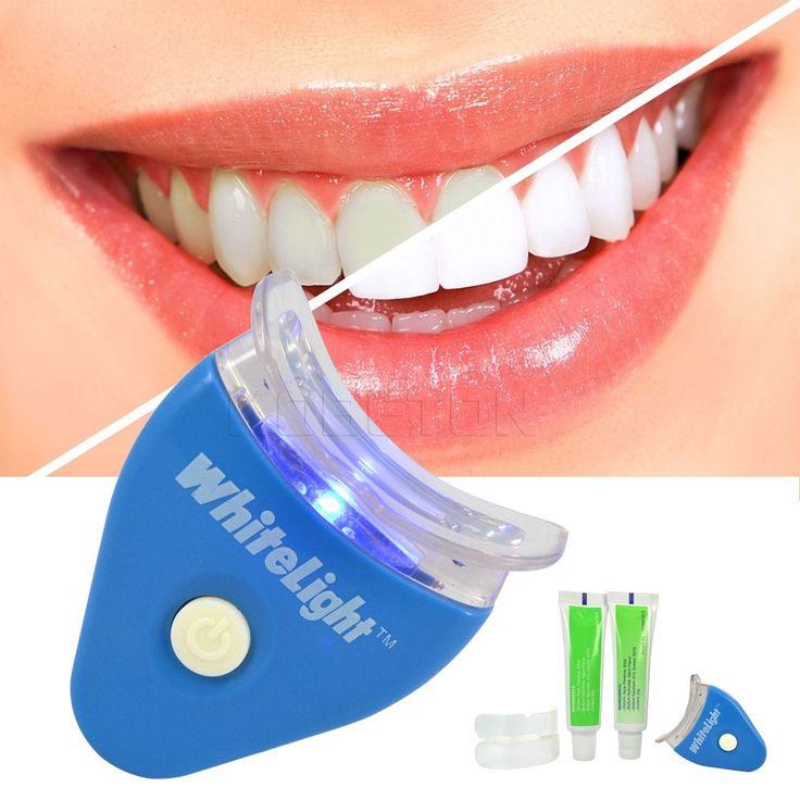 1 Unidades NUEVA Caliente LED de Luz Blanca Para Blanquear Los Dientes Gel Blanqueador Dental Salud Kit Pasta de dientes Oral Care para Personal tratamiento