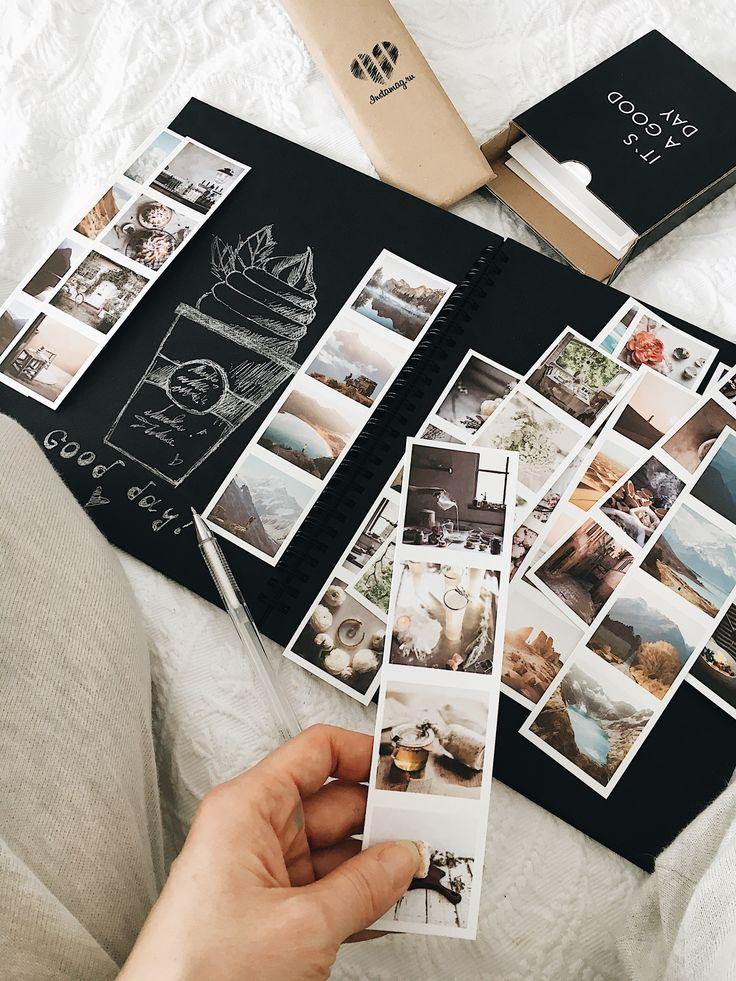 Retro Fotostreifen   – Bullet Journal