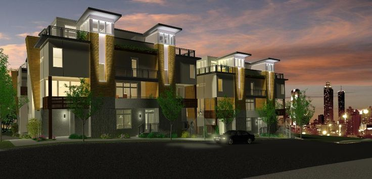 73 best images about multi family architecture on for Contemporary home builders houston