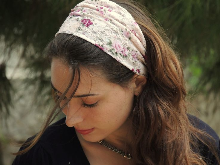 34 besten Tichel and head scarf designs Bilder auf Pinterest ...