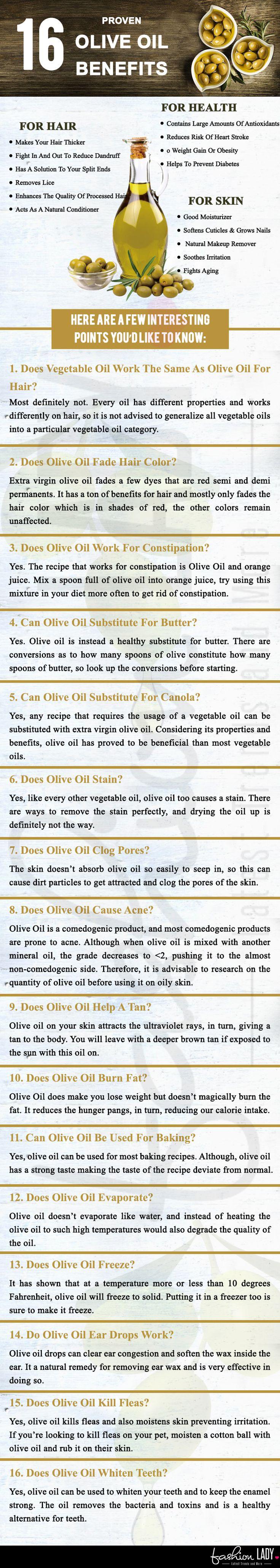 16 Proven Olive Oil Benefits