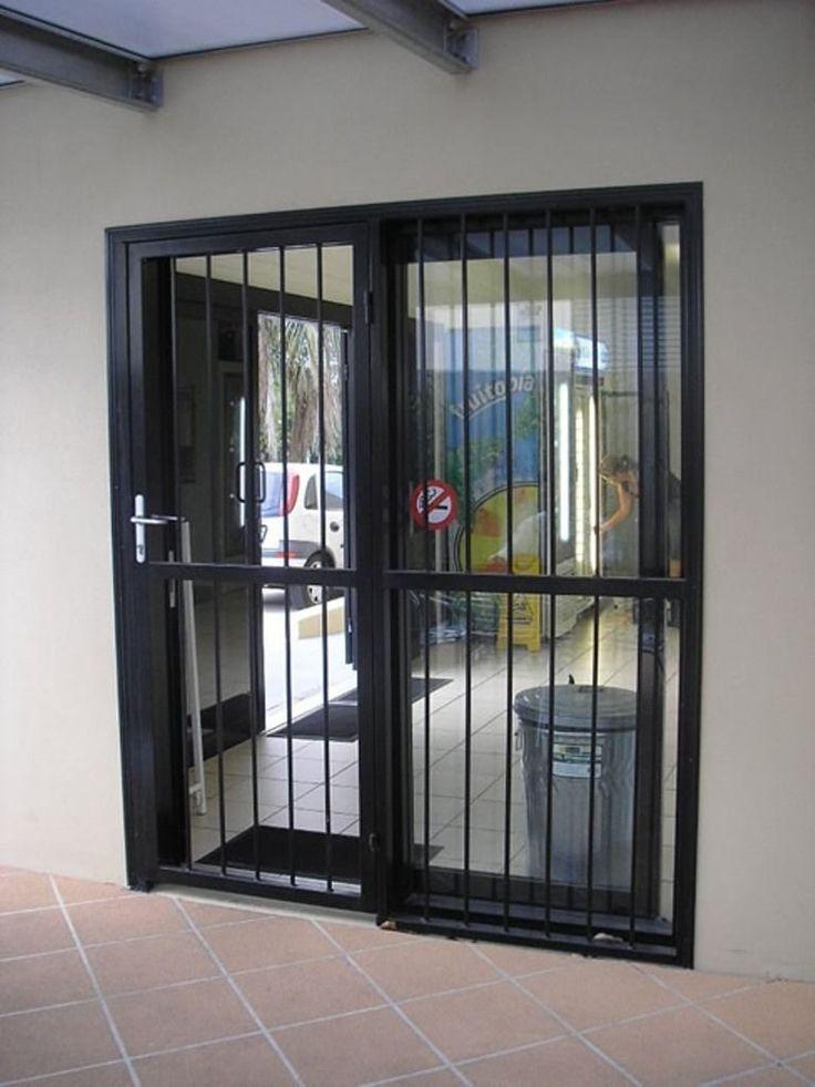 Aluminum Security Bar For Sliding Glass Doors